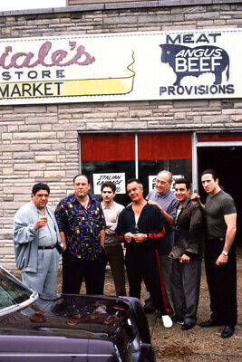P580 Art Decor The Sopranos Mafia Gangsters TV Series Gigantic Silk Poster