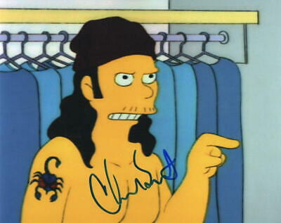 Chad Smith Signed 8X10 Photo The Simpsons Red Hot Chili Peppers Autograph Coa