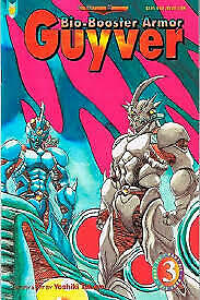 Guyver Comic Bio-Booster Armor Part 6  ( 1989 )