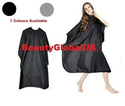 NEW Unisex Hair Salon Hairdressing Barbers Gown Cutting Cape Covers For Adults