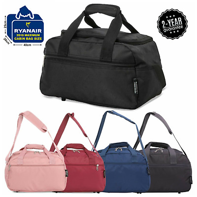 Aerolite New 2019 Ryanair 40x20x25 Maximum Sized Cabin Carry on Holdall Bags