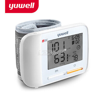 Automatic Electric Wrist Blood Pressure Monitor LCD Digital Display ScreenYUWELL