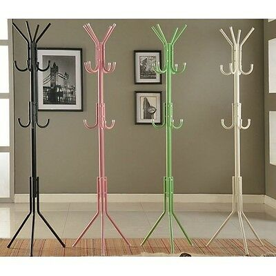 New 11 - Hooks Metal Hat/Coat Stand