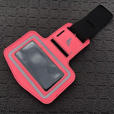 "TECH BAND ""Pink"" Armband Activewear Designed To Carry Smart Phone Music Player"