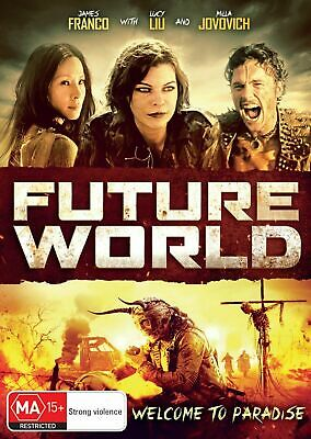 Future World – Dvd - Region: 2+4- New And Sealed-Free Post Within Australia