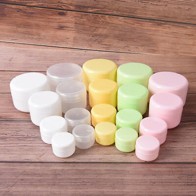 refillable bottles empty makeup jar pot travel face cream cosmetic container ZW