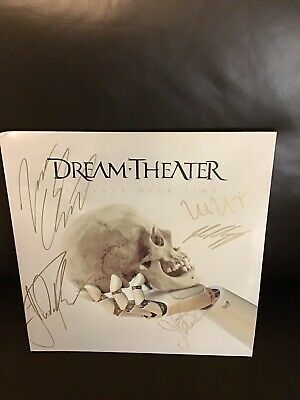 vinyl records- Dream Theater- Distance Over Time- New Signed By All Band Members