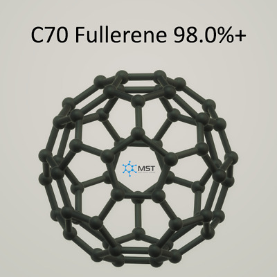Quality Carbon C70 98.0%+  Fullerene from manufacturer CAS-No.: 99685-96-8