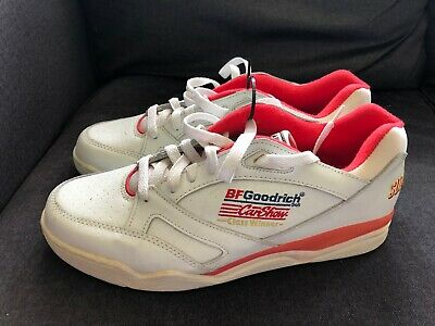 Vintage FASTLANE FOOTWEAR Leather Gym Shoes BF GOODRICH Super Chevy Car Show