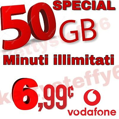 COUPON Passa a Vodafone special 50 Gb MINUTI ILLIM. DA HO MOBILE- VIRTUALI -3