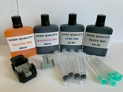 Hp 301 301Xl Ink Cartridge Black & Colour Ink Refill Kit Hp Deskjet 3050 3055