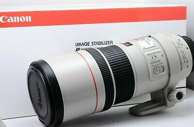 Canon EF 300mm f4 L IS USM in Good Condition With Packaging and Lens Case