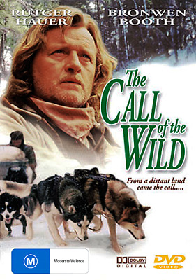 Rutger Hauer THE CALL OF THE WILD - INSPIRING DOG STORY DVD (NEW & SEALED)