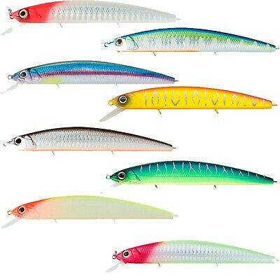 Strike Pro Jointed SUSPEND Floating Jerkbait Minnow MG-010SP#DBB in BABY BASS