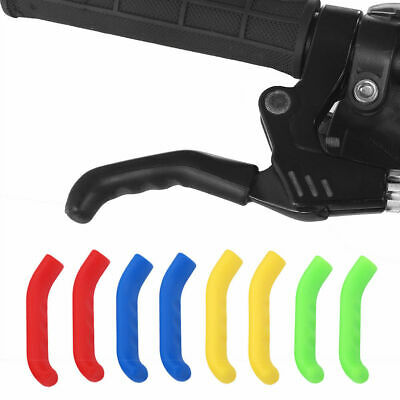 1 Pair Of Coloured Brake Lever Grips Protector Covers Mountain Bike MTB Bicycle