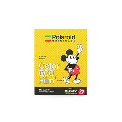 Polaroid Original Limited Edition Mickey Mouse Film for 600 & i-Type Cameras