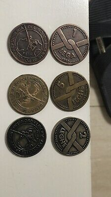 2sets x 1992 italy 1 2 5 lega nord coin set