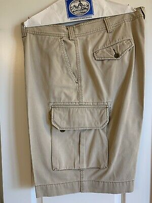 New Shorts Beige Ralph Khaki Men Lauren Gellar Sz Cargo Polo Fatigue OkuiPXZ