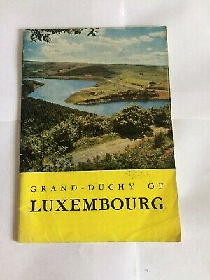 """1961 Grand Duchy of Luxembourg Tourist Information Booklet 48 pages 4 ¾"""" x 6 ¾"""""""