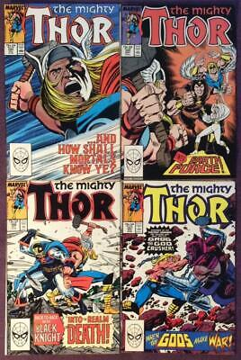 Thor #394 to #397 (Marvel 1988) 4 x issues.