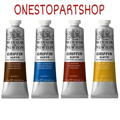 Winsor & Newton Griffin Alkyd Fast Drying Oil Colour 37ml (COMBINED POSTAGE)
