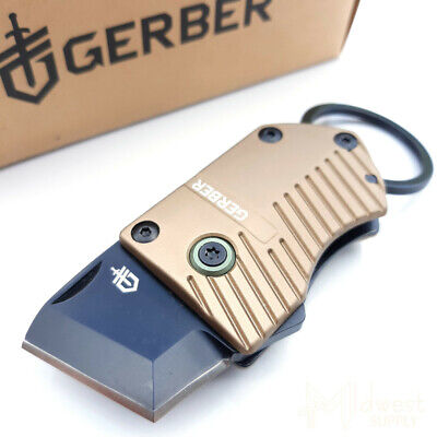 Gerber Key Note Linerlock Scraping and Cutting Knife Black Stainless Steel Blade
