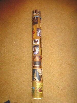 """NewCardboard 26"""" Tube with ancient egyptian design Transport Posters & Documents"""