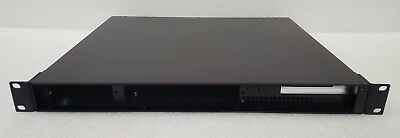 """1U Rackmount case I/O back to front with 2x3.5"""" HDD bays"""