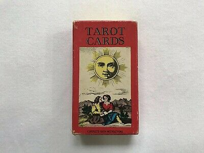 AG Muller Tarot Card Set Complete 78 Cards Illustrated 1970 Esoteric Switzerland