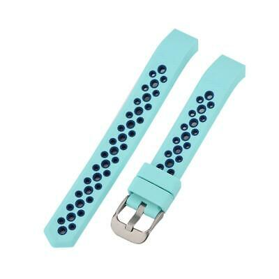 Silicone Wrist Band Strap Replacement For Fitbit Alta HR Smart Watch Green
