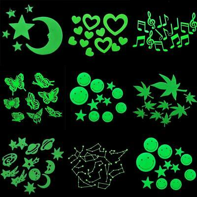 Glow In The Dark Stars Wall Sticker Kids Nursery Bedroom Room Ceiling Decor