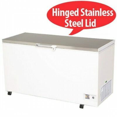 Bromic - Chest Freezer 492L Flat Top/Stainless Steel - CF0500FTSS