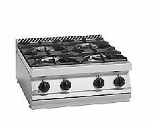 Fagor 700 Series Natural Gas 4 Burner SS Boiling Top CG7-40H