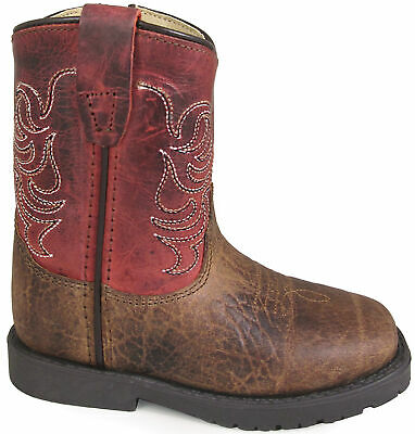 Smoky Mountain Toddler Boys/' Austin Lights Western Boot 1160T Round Toe