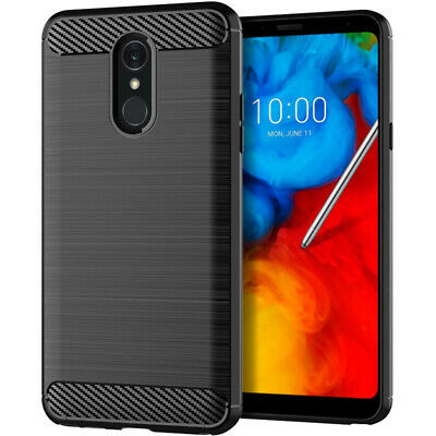 For LG Stylo 4 Phone Case Business Style Shockproof Cover Non-Slip Durable 1.5mm