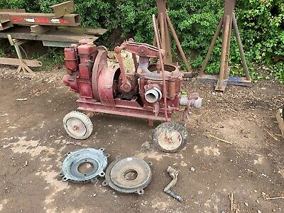 Lister Radicon Nodding Donkey  Water Pump with 5 spare engines