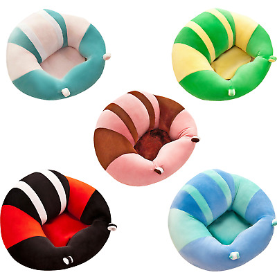 Baby Support Seat Sit Up Plush Cushion Chair Pillow Protector