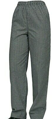 Pro Chef Traditional Check Drawstring Pant Size M FREE POSTAGE