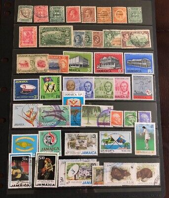 Jamaica :- British Colonies & Commonwealth Collection Of Mint & Used Stamps