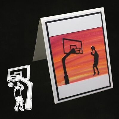Play Basketball Cutting Dies Stencil Scrapbooking Paper Card Embossing DIY Craft