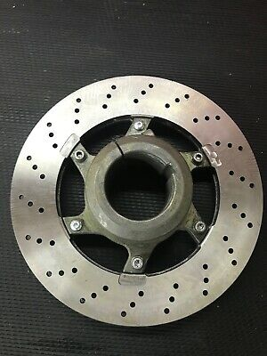 Used - OTK Tony Kart 206mm New Large Brake Disc & Used Carrier