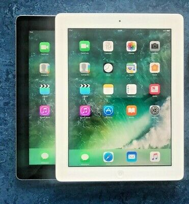 GRADE A/A- Apple iPad 4th 16/32/64/128GB, Wi-Fi or 4G, 9.7in, Various Colours