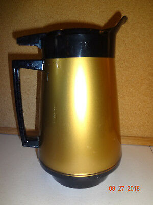 Vintage Mid Century Modern West Bend Thermo Serv Hot Chocolate Coffee Carafe