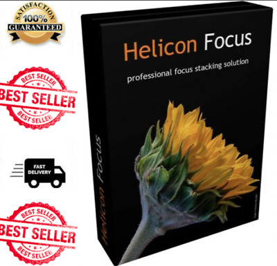 Helicon Focus Pro 7.5 Multilanguage | version portable | Instant Delivery