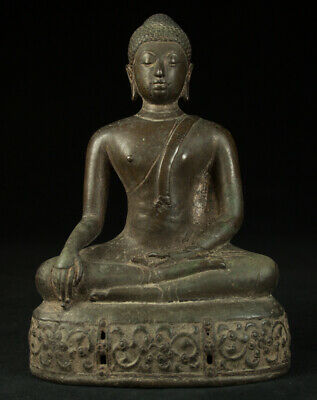 Antique Thai Buddha statue from Thailand, 15th century - possibly earlier