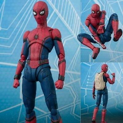 NEW 2019  Avengers Spiderman Super hero Homecoming Action figure 15cm toys doll