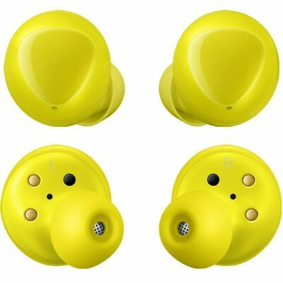 Samsung Galaxy Buds 2019, Bluetooth True Wireless Earbuds (iOS & Android) Yellow