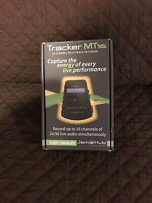 JamHub Tracker MT16 Multi‑Track Audio Recorder. Perfect condition. With SD card