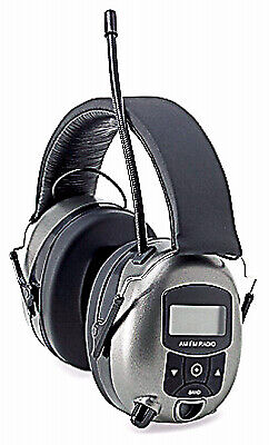 Safety Works 10121816 MP3/AM/FM Digital Radio & Hearing Protector Safety