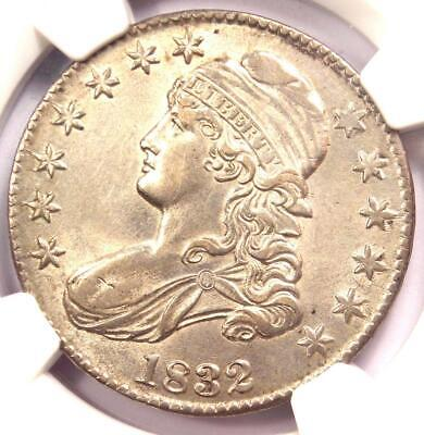 1832 Capped Bust Half Dollar 50C Coin - NGC Uncirculated Details (MS UNC)!
